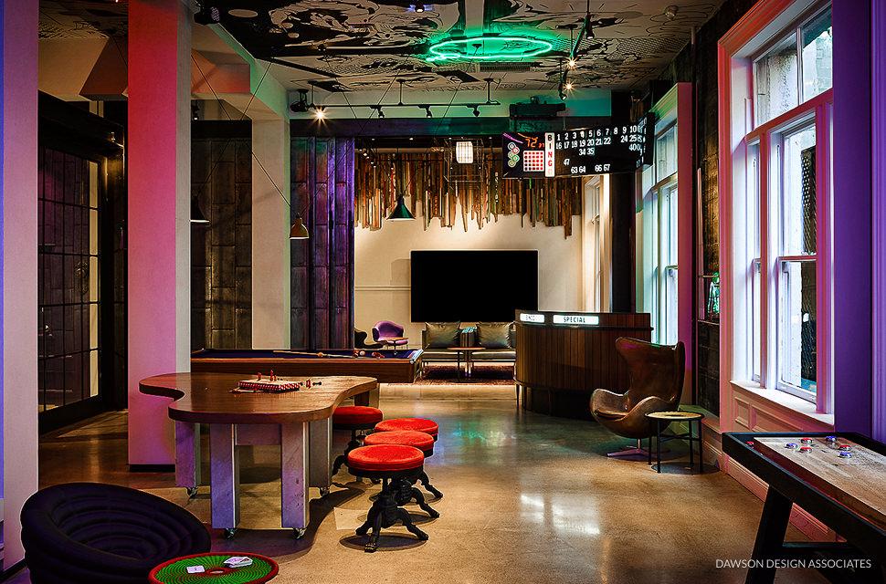 hotel zeppelin - dawson design associates hospitality interior design