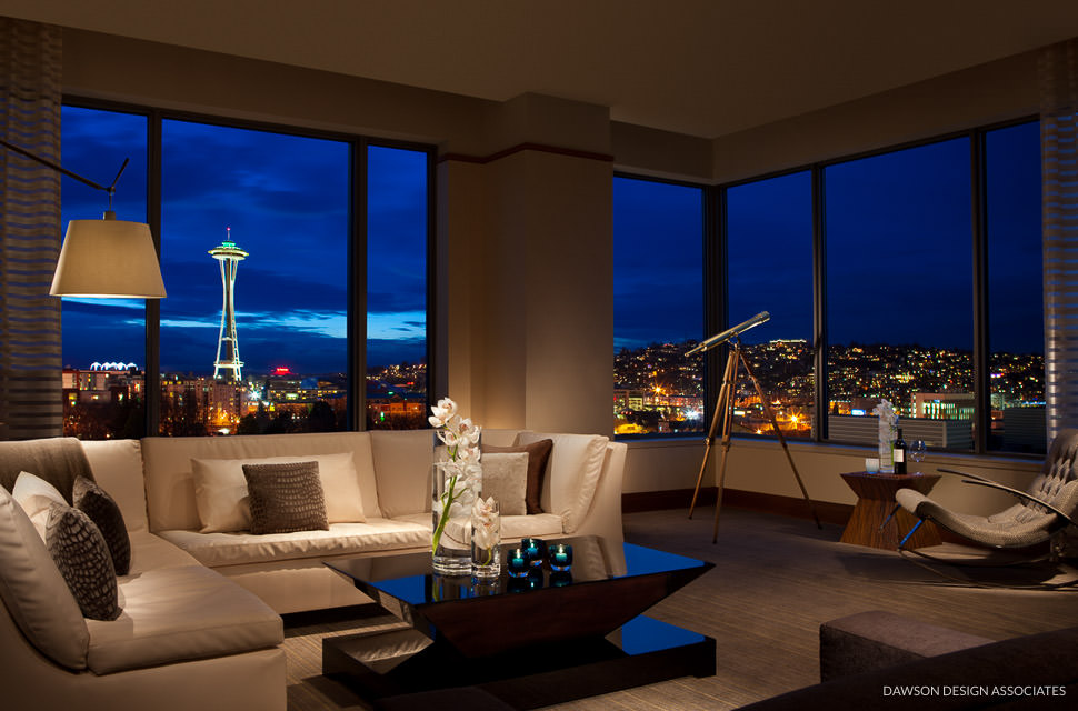 Pan pacific hotel seattle dawson design associates for Design hotel speicher 7